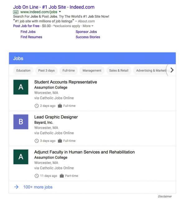 google offre emploi 1