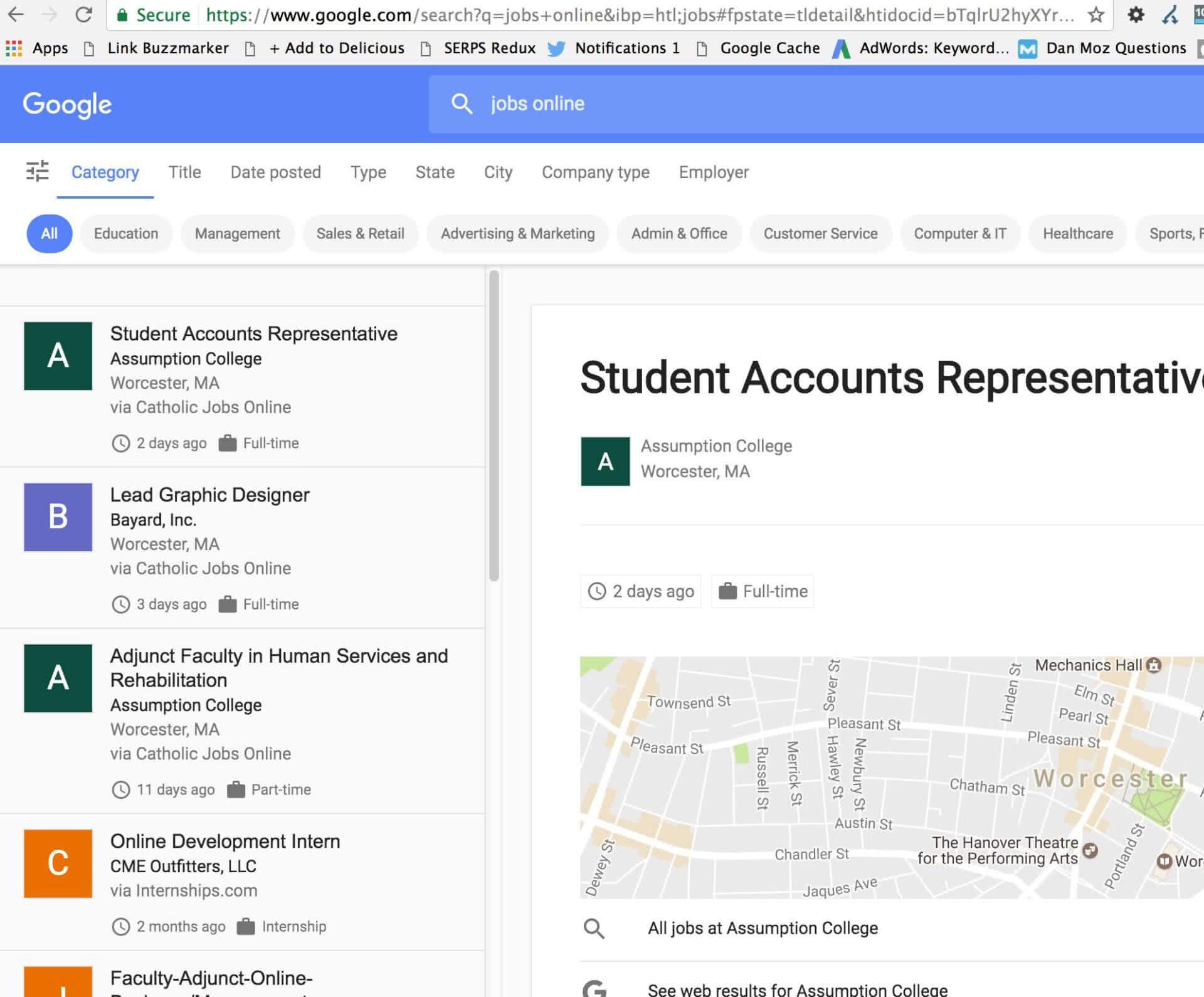 google offre emploi 3