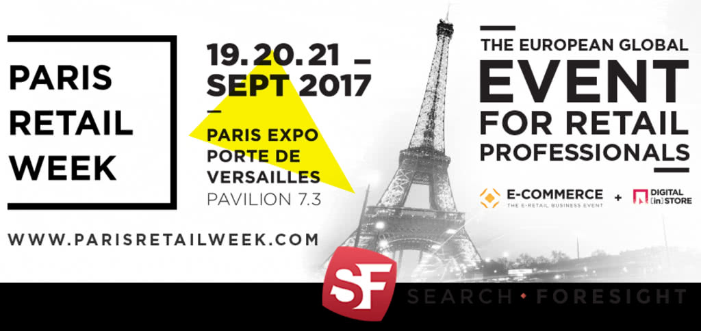 Search foresight au salon e commerce 2017 paris retail week for Salon e commerce paris 2017