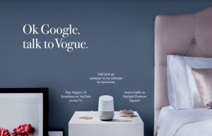 Google assistant vogue