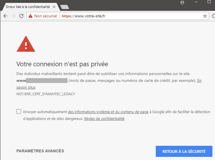 faille de securite site web