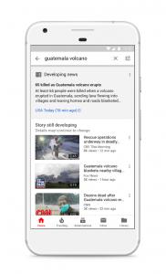 Texte actualité youtube