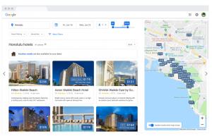 Hotel index map