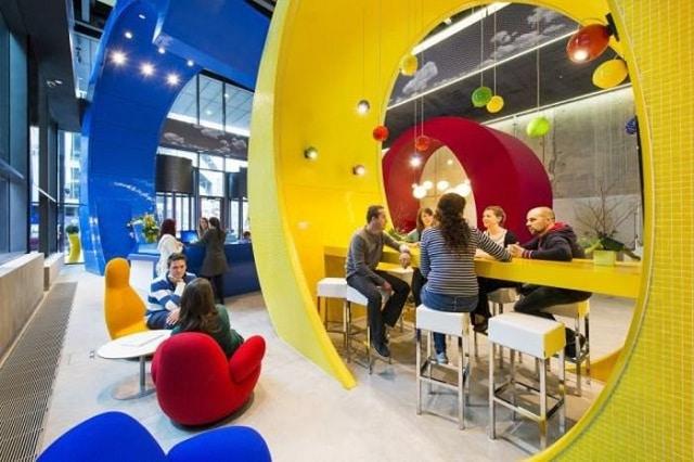 les bureaux de Google en Irlande